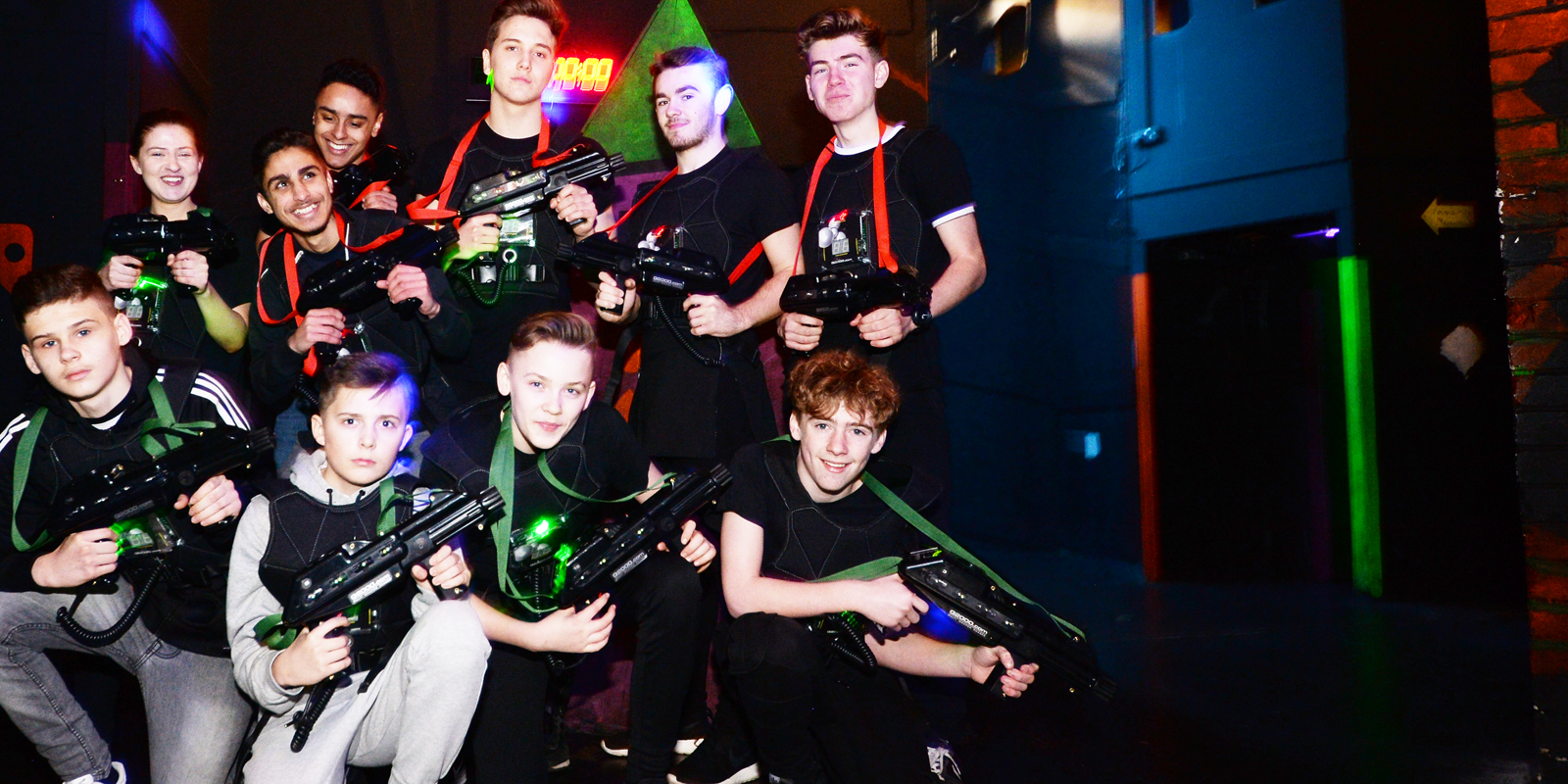 Laser Tag at TeamSport