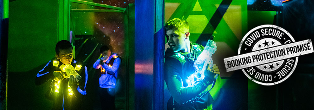 laser tag booking protection